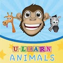 uLearn Animals (No Ads) logo