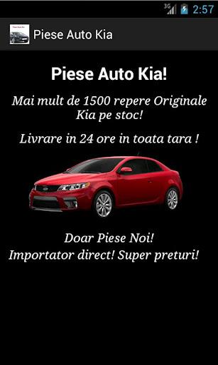 Piese Auto Kia