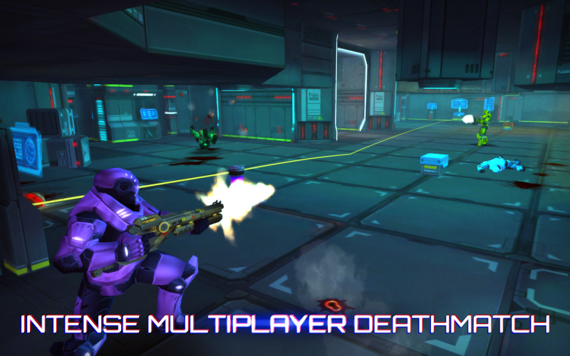 Neon Shadow v1.34 Hack Apk Mod (Unlimited Ammo/Health) - screenshot