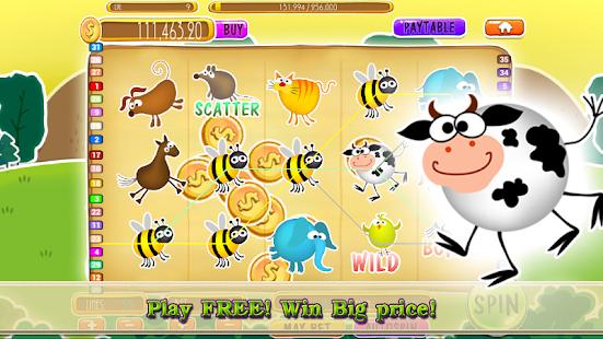 777 Amazon animal slots screenshot