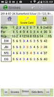 Screenshot of Golf Strokes & Bets