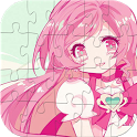 Cartoon Jigsaw Puzzle icon