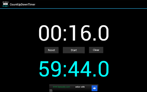 Count Up Down Timer -free ver. - screenshot thumbnail