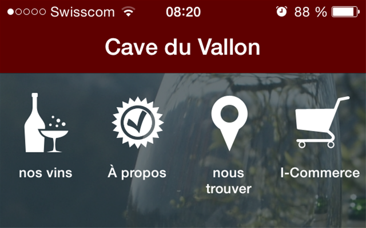Cave du vallon- screenshot