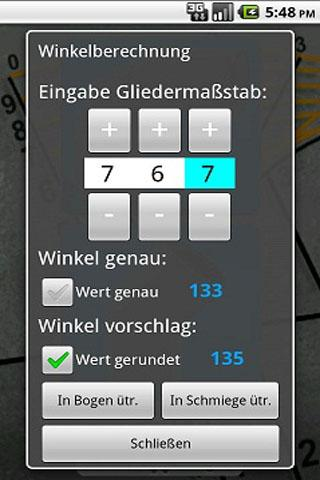 Segmentbogen - screenshot
