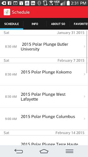 Indiana Polar Plunge