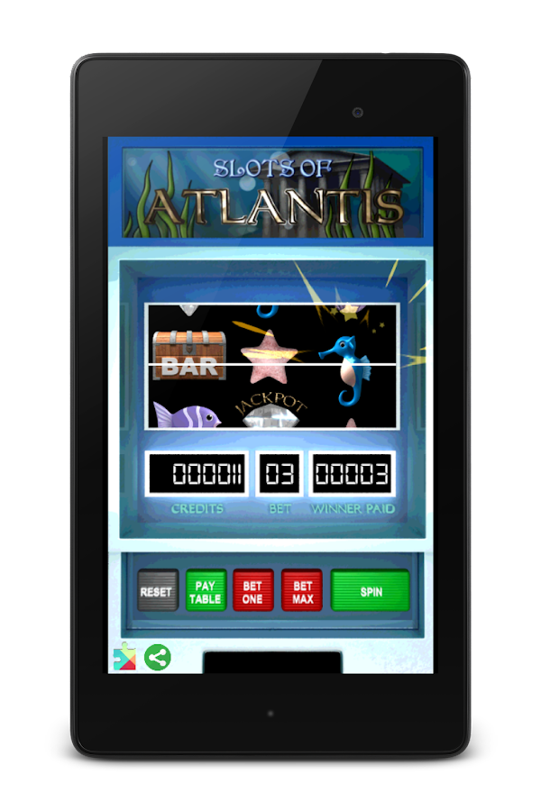 Slots of Atlantis - screenshot