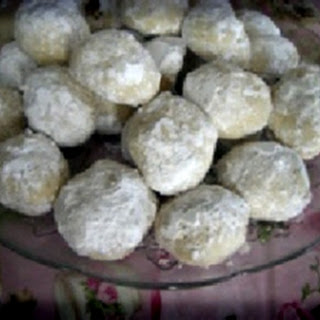 Wedding Cookies with Coconut