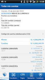 BBVA Continental | Banca Móvil - screenshot thumbnail