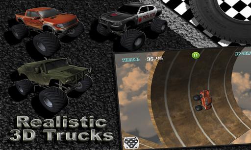 MONSTER TRUCK RACING
