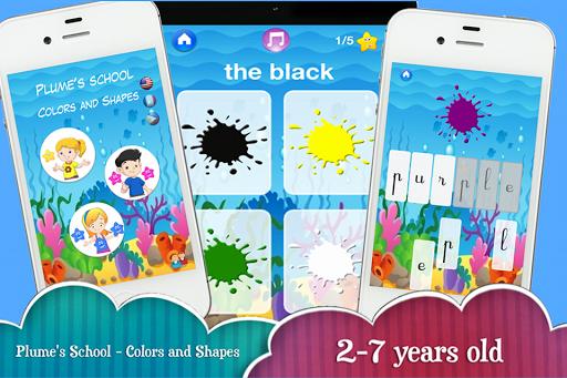 Plume's School - Shape Colors