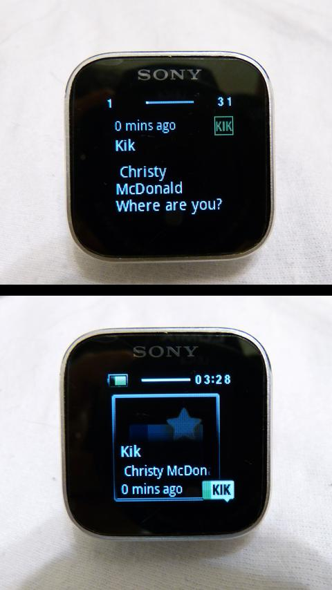 SmartWatch Universal IM - screenshot