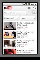 Screenshot of RankingTube