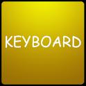 Gold Keyboard Skin logo