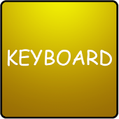 Gold Keyboard Skin