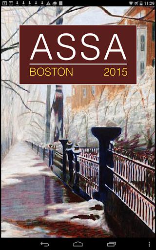 ASSA 2015 Annual Meeting