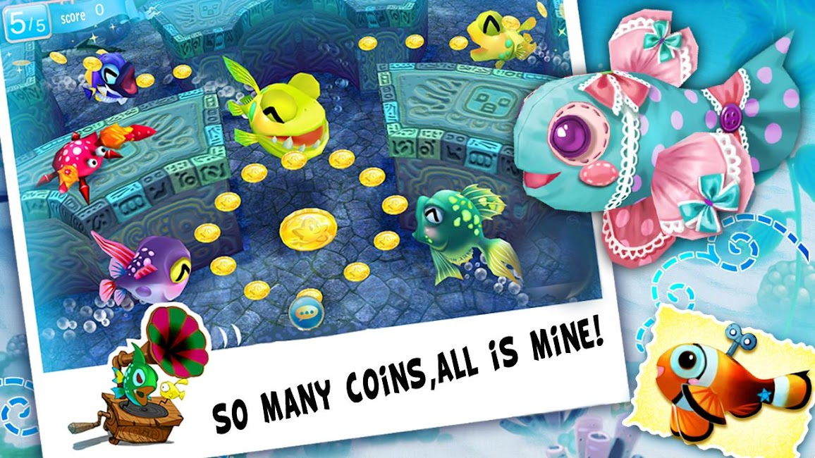 #5. Fish Party Online (Android)