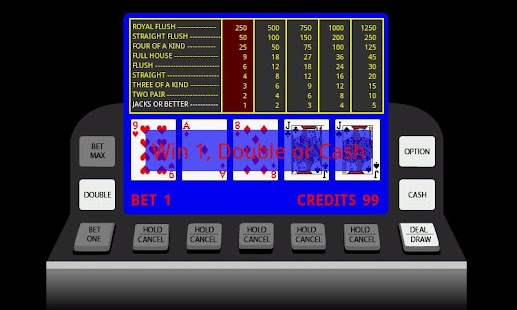 Poker Video Machine- screenshot thumbnail