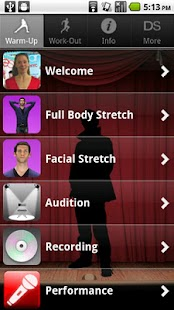 Singing For Dancers, Male - screenshot thumbnail