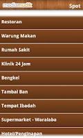 Screenshot of Media Mudik