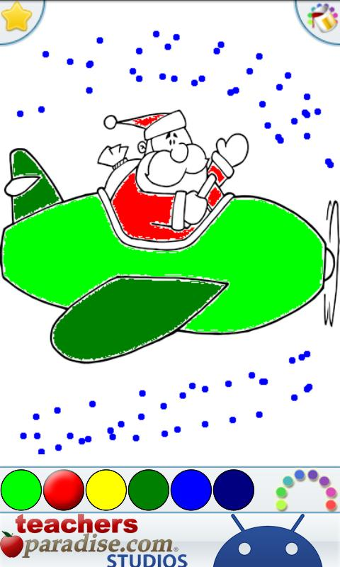 Christmas Coloring Book Games- screenshot
