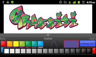 Screenshot of Graffiti Maker