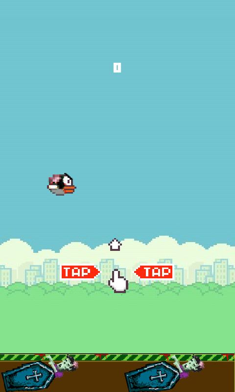 #ScaryBird - screenshot