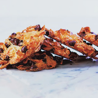 Salted Chocolate Chip Macaroons.