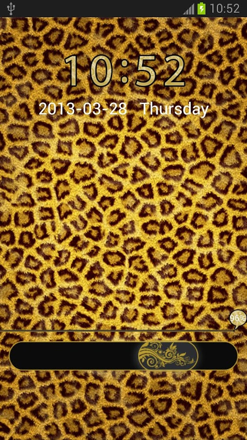 GO Locker Theme Leopard - screenshot