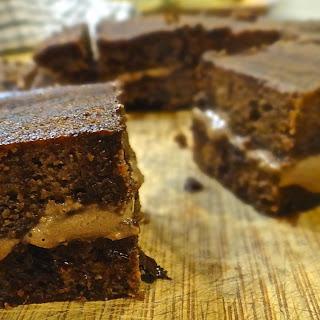 Sweet Potato Double Chocolate Brownie.