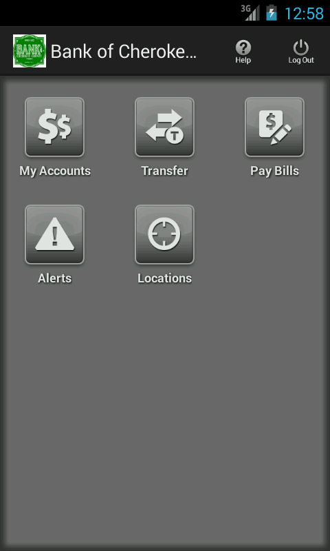 Bank of Cherokee County- screenshot