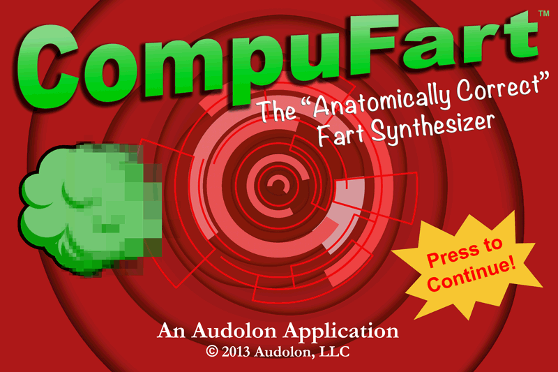 CompuFart: Fart Synthesizer - screenshot