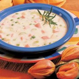 New England Potato Soup.