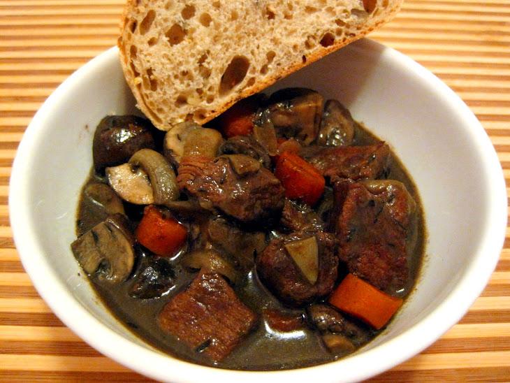 Portabello Beef Stew Recipe