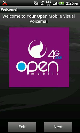 Open Mobile Visual Voice Mail