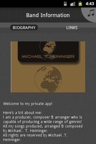 Michael .T. Heininger MusiX - screenshot