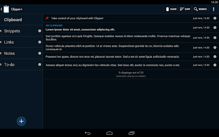 Clipper - Clipboard Manager Screenshot 3