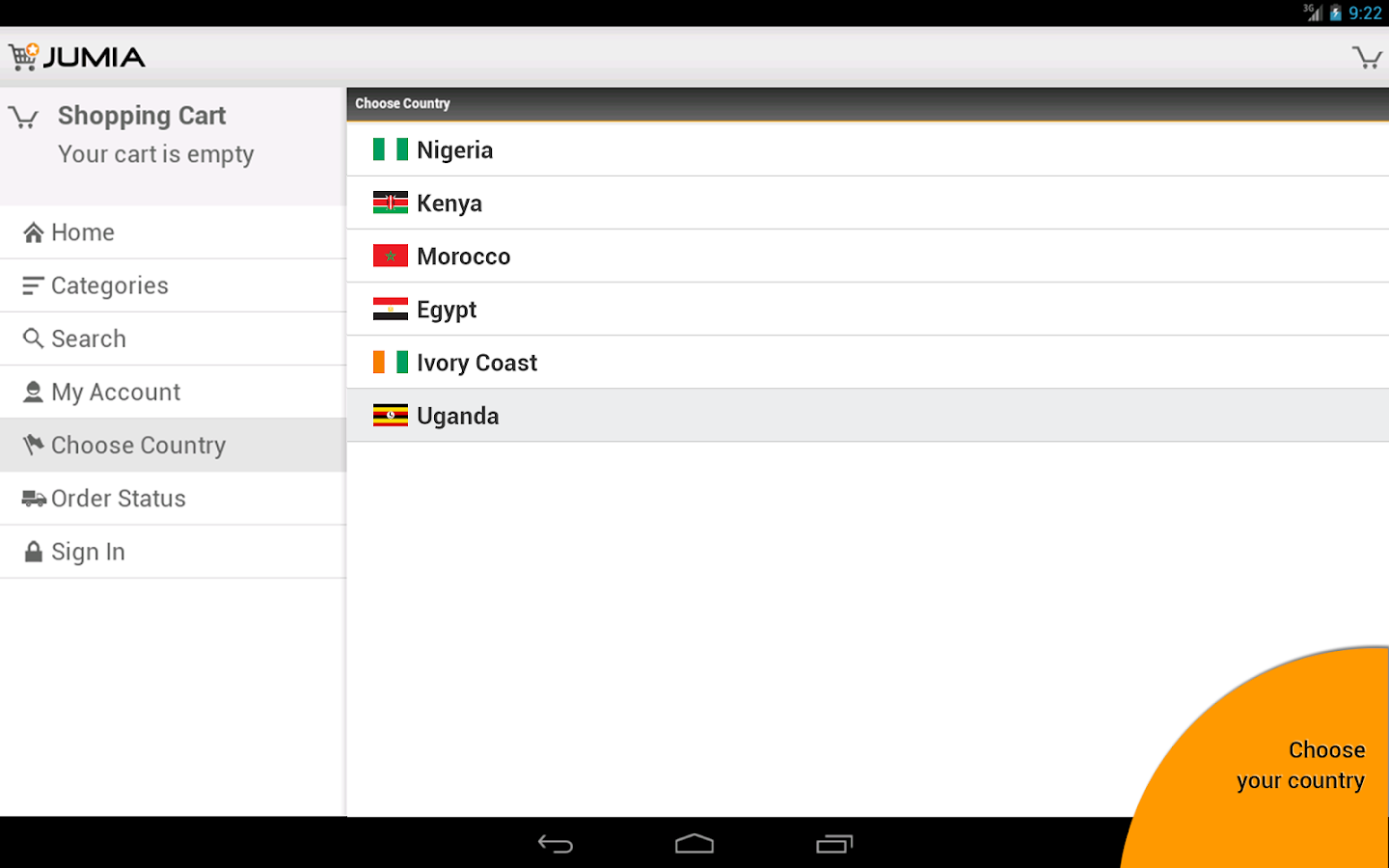 JUMIA App for Android - screenshot