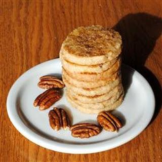 Crisp Pecan Rounds Recipe