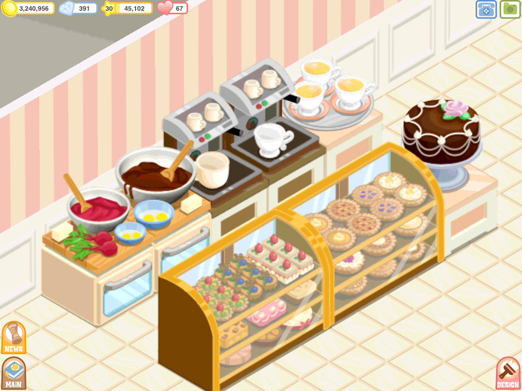Cake Shop Design Game