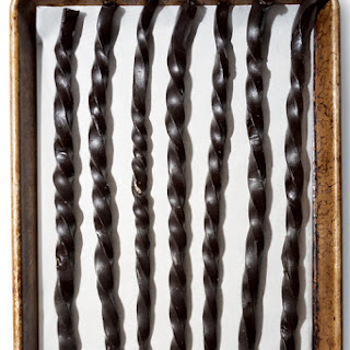 Homemade Black Licorice Twists