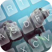 Hippo Chub Keyboard Theme