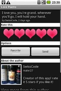 Love Poems- screenshot thumbnail