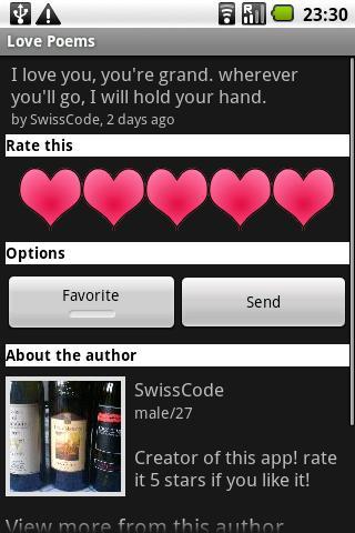 Love Poems- screenshot
