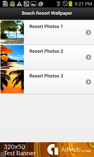 Beach Resort Wallpaper