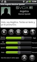 Screenshot of SVOX Mexican Angelica Voice