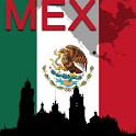 Mexico Map logo