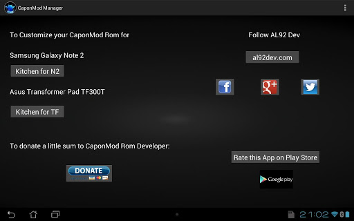 CaponMod Rom Manager