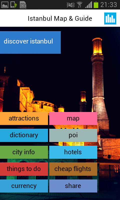 Istanbul Offline Map & Guide - screenshot