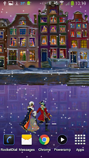 Christmas Rink Live Wallpaper Screenshot 5
